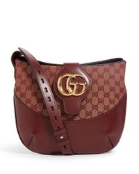 Gucci Multicolor Arli Leather Saddle Bag