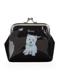 Harrods Black Westie Puppy Coin Purse