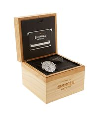 Shinola - Blue Grain Leather Strap Watch - Lyst
