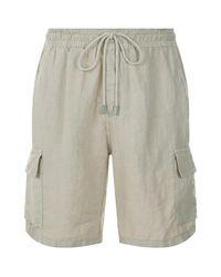 Vilebrequin - Natural Baie Linen Shorts for Men - Lyst