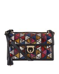 Ferragamo Medium Aileen Python Shoulder Bag - Lyst f59fab0dd3699