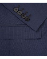 Sandro - Blue Notched 120's Jacket for Men - Lyst