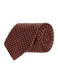Turnbull & Asser | Multicolor Micro Polka Dot Tie for Men | Lyst