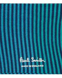 Paul Smith | Blue Degrade Stripe Socks for Men | Lyst