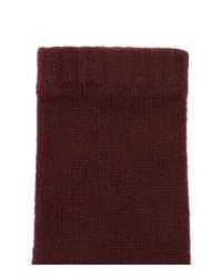 Harrods - Purple Knitted Cashmere Gloves - Lyst