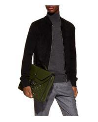 Bottega Veneta - Green Intrecciato Briefcase for Men - Lyst