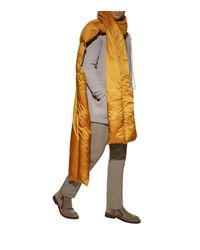 Rick Owens - Orange Oversized Down Padded Scarf for Men - Lyst