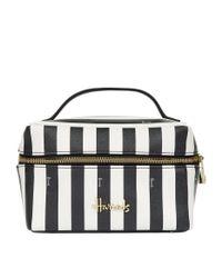 Harrods - Black Boutique Multi Stripe Large Cosmetic Bag - Lyst
