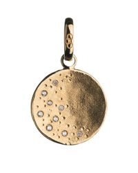 Links of London   Metallic Watch Over Me Moon 18ct Gold Charm   Lyst