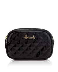 Harrods - Black Christie Cosmetic Bag - Lyst