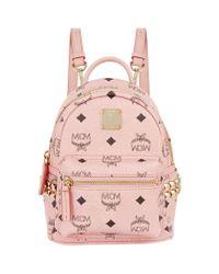 MCM - Pink X-mini Stark Bebe Boobackpack - Lyst