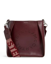 Stella McCartney Red Stella Logo Shoulder Bag