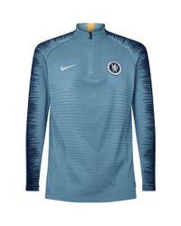 Nike Green Chelsea Fc Strike Drill Top for men