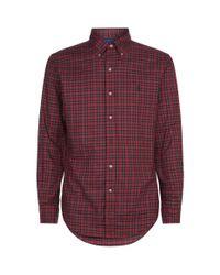 Ralph Lauren Check Shirt Red for men