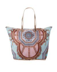 Ted Baker Blue Karalia Foldaway Bag