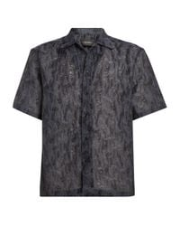 A_COLD_WALL* Gray * Textured Shirt for men