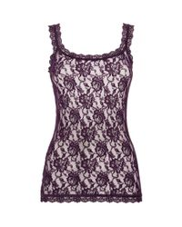 Hanky Panky - Purple Signature Lace Camisole - Lyst