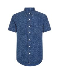Polo Ralph Lauren - Blue Star Short Sleeve Shirt for Men - Lyst