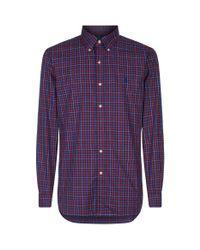 Polo Ralph Lauren Purple Slim Fit Check Shirt for men