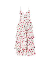 Dodo Bar Or - White Gian Floral Tiered Dress - Lyst