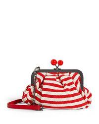 Weekend by Maxmara Red Mini Pasticcino Cross-body Bag