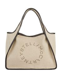 Stella McCartney Natural Canvas Tote Bag