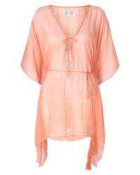 Aya Silk Pink Aragonite Tunic