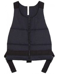 Cottweiler Midnight Blue Quilted Shell Gilet for men
