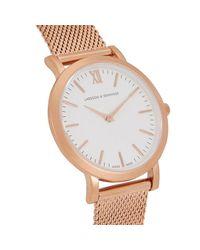 Larsson & Jennings Metallic Liten Rose Gold-plated Watch