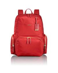 Tumi | Red Calais Backpack | Lyst