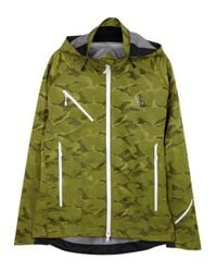 canada goose x ovo timber olive camouflage jacket in natural for men