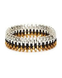 Alice Menter - Metallic Ivy Gold-plated Bracelet - Lyst