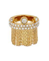 Ca&Lou - Metallic Karen Fringed 24kt Gold-plated Ring - Lyst