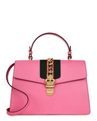 Gucci Pink Sylvie Medium Shoulder Bag