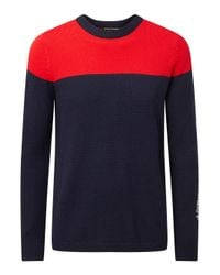 Perfect Moment | Blue Team Rider Merino Wool Jumper for Men | Lyst