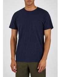 NN07 Blue Aspen Navy Cotton-jersey T-shirt for men