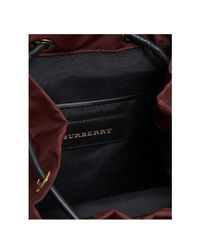 Burberry Multicolor The Small Crossbody Rucksack In Nylon