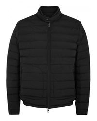Moncler - Acorus Black Quilted Shell Jacket - Size 4 for Men - Lyst