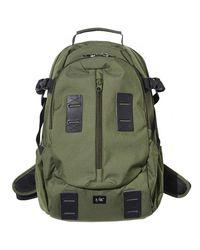F/CE Green Pe Travel Backpack for men
