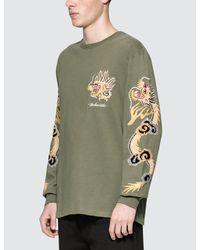 Maharishi - Green Golden L/s T-shirt for Men - Lyst