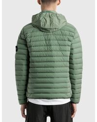 Stone Island Green Lightweight Padded Jacket for men