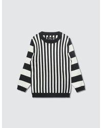 MeMe London Black Rei Knit Sweater for men