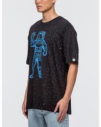 Billionaire Boys Club - Ice Cream Black Galaxy Astronaut T-shirt for men