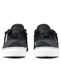 Clear Weather Gray Grey Wool Everest Mid Top Sneakers for men