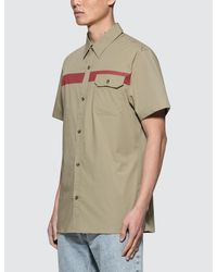 Calvin Klein Jeans - Natural Wings Slim Fit S/s Shirt for Men - Lyst