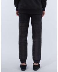Black Scale Multicolor Sigil Sweatpants for men