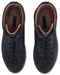Yeezy Blue Military Boots for men