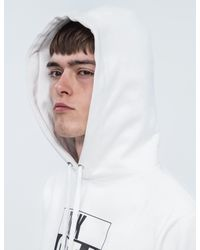 AfterMidnight NYC - White Fuck Out Of Here Hoodie for Men - Lyst