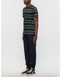 AMI - Multicolor Club Stripes Chest Pocket S/s T-shirt for Men - Lyst