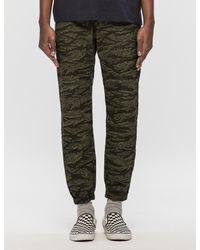 Carhartt WIP Green Ripstop Marshall Jogger Pants for men